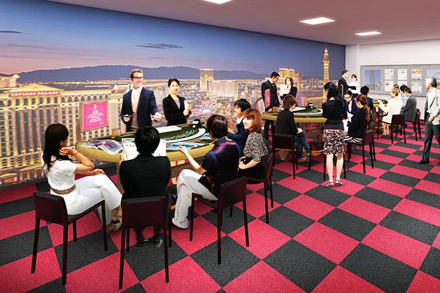 カジノスクール(学校) IGS インターナショナル・ゲーミング・スクール 大阪