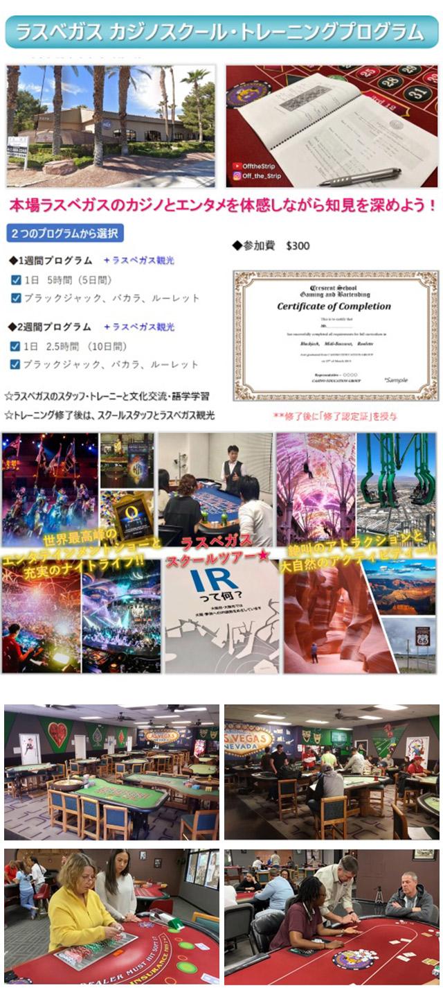 IGS カジノスクール(学校) インターナショナル・ゲーミング・スクール 大阪